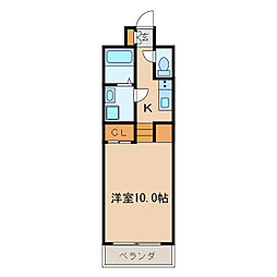 プライムアーバン千種[7階]の間取り