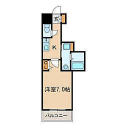 PONTE ALTO新栄[5階]の間取り
