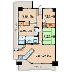 エルザセンティア久屋[8階]の間取り
