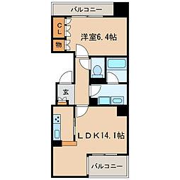 CASA BIANCA[3階]の間取り