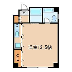 AOI FLATS[3階]の間取り