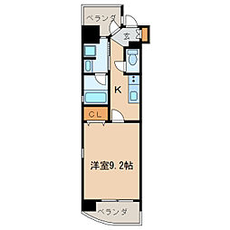 CHIKUSA AVANT-GARDE PLACE[13階]の間取り
