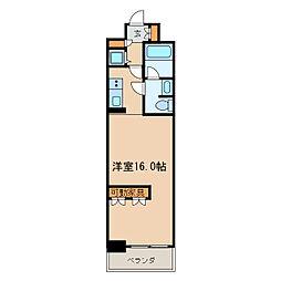 BPRレジデンス久屋大通公園[8階]の間取り
