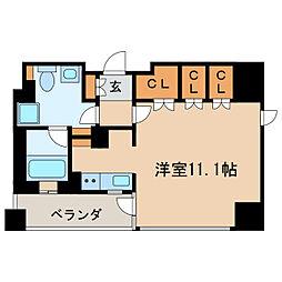 IZUMI 1[7階]の間取り