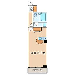 アビタシオン泉[5階]の間取り