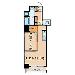 KCLASSYIZUMI[7階]の間取り