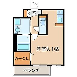 プレサンス桜通アベニュー[4階]の間取り
