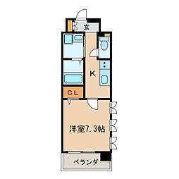 LIBERTA CARINO[5階]の間取り