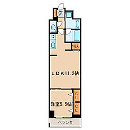 ロイジェント新栄IV[7階]の間取り