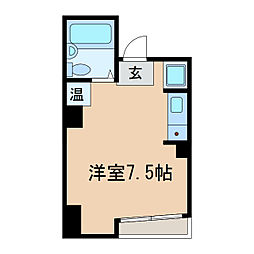 IB SPOT[5階]の間取り