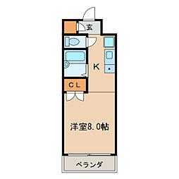 オークヒルズ円庄II[3階]の間取り