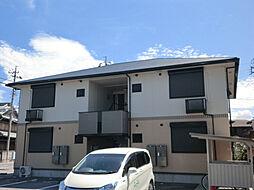 三重県鈴鹿市若松中2丁目の賃貸アパートの外観
