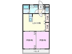 AP Rei[2階]の間取り