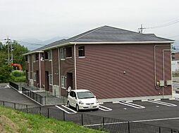 三重県亀山市田村町の賃貸アパートの外観