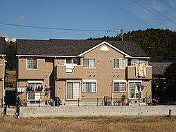 三重県亀山市関町新所の賃貸アパートの外観