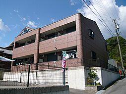 三重県亀山市関町富士ハイツの賃貸アパートの外観