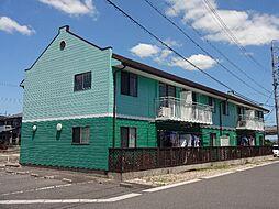 三重県鈴鹿市肥田町の賃貸アパートの外観