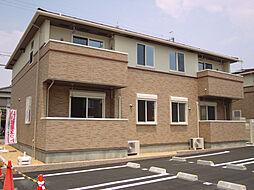 フォーチュネイト ビレッジB[1階]の外観