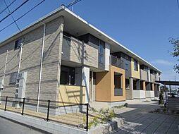 三重県鈴鹿市江島町の賃貸アパートの外観