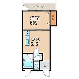 LETOプラザ[6階]の間取り