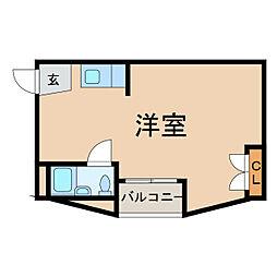 友田町ビル[4階]の間取り