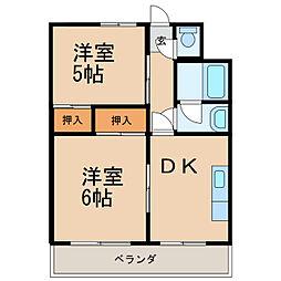 第5宮田ビル[4階]の間取り