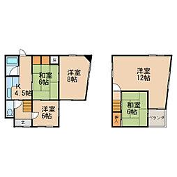 阪和線 六十谷駅 徒歩34分