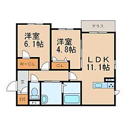 海南駅 6.4万円