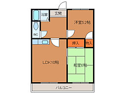 北海道函館市昭和4丁目の賃貸マンションの間取り