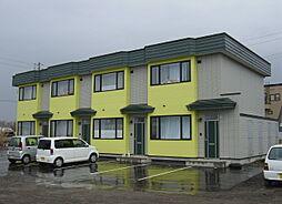北海道函館市志海苔町の賃貸アパートの外観