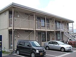 北海道函館市赤川1丁目の賃貸アパートの外観