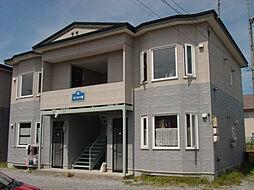 北海道函館市港町1丁目の賃貸アパートの外観