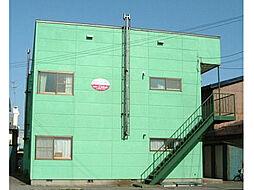 北海道函館市中島町の賃貸アパートの外観