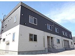 北海道函館市神山町の賃貸アパートの外観