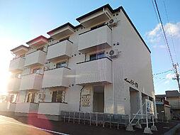 北海道北斗市七重浜3丁目の賃貸アパートの外観