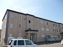 北海道北斗市七重浜8丁目の賃貸アパートの外観
