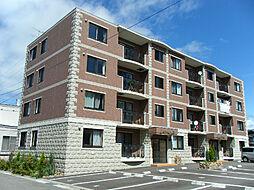 北海道函館市美原3丁目の賃貸マンションの外観