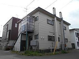 北海道函館市美原1丁目の賃貸アパートの外観