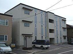 北海道函館市昭和4丁目の賃貸アパートの外観