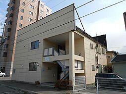 北海道函館市末広町の賃貸アパートの外観