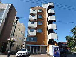 北海道函館市松風町の賃貸マンションの外観