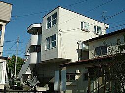 北海道函館市五稜郭町の賃貸アパートの外観