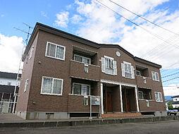北海道函館市石川町の賃貸アパートの外観