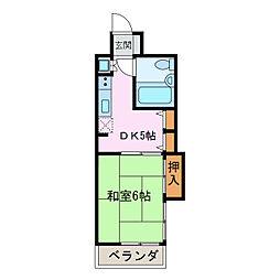 ダイアパレス新居浜[2階]の間取り