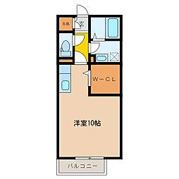 カサベルテ[2階]の間取り