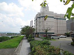 滋賀県大津市松原町の賃貸マンションの外観