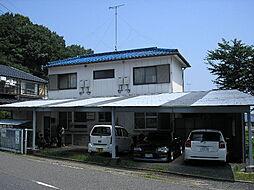 滋賀県大津市秋葉台の賃貸アパートの外観