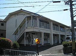 滋賀県大津市大江3丁目の賃貸アパートの外観