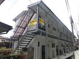 滋賀県大津市国分2丁目の賃貸アパートの外観