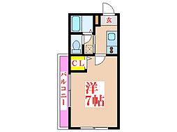 下原ビル [5階]の間取り